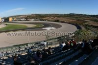 Tribüne Weiss<br />MotoGP Valencia - Cheste